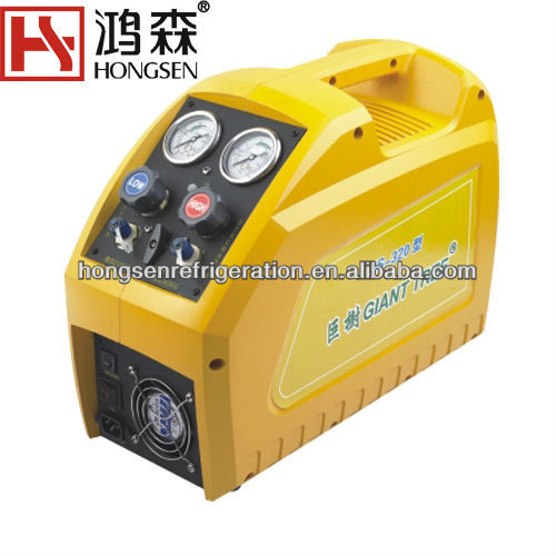 refrigerant recovery machine freon filling charging machine
