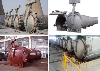 China High Temperature Steam Pressure AAC Autoclave For AAC Block Making Plant supplier