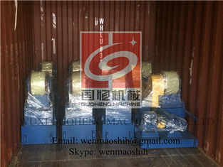 China Self Aligning Vessel Pipe Welding Rotators with Siemens Motor supplier
