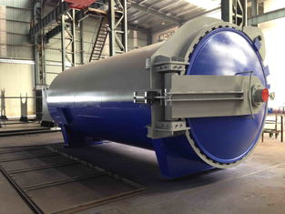 China Glass industry Laminated Glass Autoclave Aerated Concrete / Autoclave Machine Φ2.5m supplier