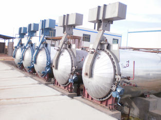 China Diameter 2.68 meter aac brick autoclave used in wood, metallurgy supplier