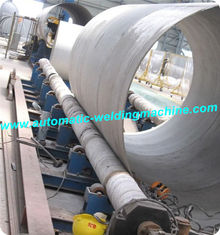 China 20T Automatic Long Axis Conventional Pipe Welding Rotator For Big Tank Or Pipe supplier