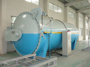 China Automatic Laminated Glass Autoclave for Rubber Industrial , High Efficiency supplier