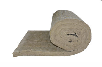 China Sound Absorption Rockwool Insulation Blanket Low Thermal Conductivity supplier