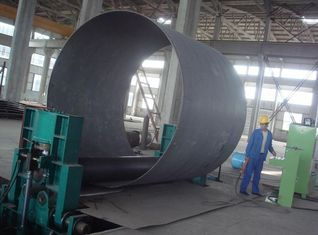 China Large Symmetric Plate Roller Machine Hydraulic 2000mm Width For Boiler supplier