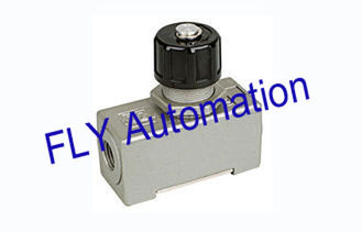 Custom AS-02 One Way Pneumatic Air Flow Control Valves Aluminum Alloy