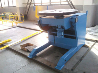 China Horizontal Automatic Welding Positioner , 3 Ton Weld Positioner Turing Tables supplier