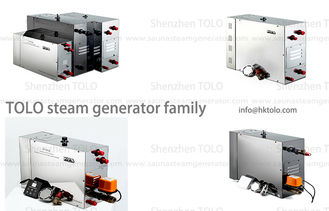 China 3 Phase Wet household steam generator auto flushing for steam bath supplier