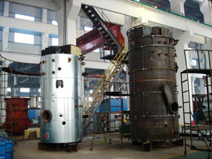 China 0.7 - 1.6Mpa  Steam Boiler Fuel Oil / Coal fired steam Boilers supplier