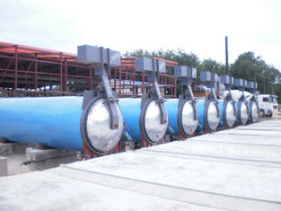 China Saturated Steam Wood Chemical Autoclave / Wood Block Machine , High Temperature supplier