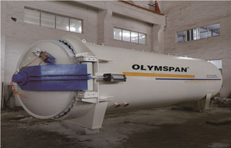 China Chemical Laminated Vulcanizing Autoclave Aerated Concrete / Autoclave Machine Φ2m supplier