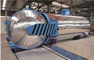 China Food Pneumatic Vulcanizing Industrial Autoclaves Φ1.8m Of Large-Scale Steam Equipment supplier