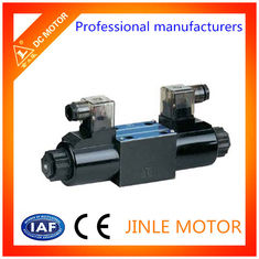 China OEM Casting Oil Media Hydraulic Directional Control Valve With Hard Chrome Plated Spool supplier