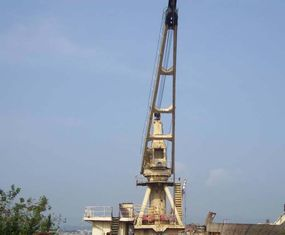 China Steel Welding Shipbuilding Gantry New Bulk carrier Marine Crane supplier
