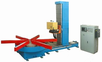 China 1 Ton Turning Table Welding Gun with Motor Control  Lift Up and Down Get  Right Position supplier