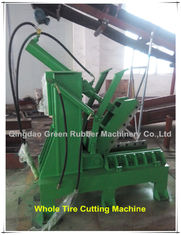 China Whole Waste Tyre Cutting Machine Tyre Cutter supplier