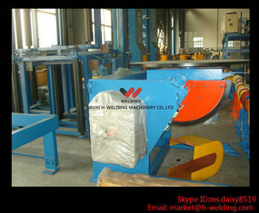 China Engineering Pipe Boiler Welding Positioner Turntable With Overturning Device / Working Table supplier