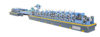 China High Frequency GB700-88 Straight Seam Welded Tube Mill Line ZG60 supplier