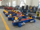 China PU Roller Welding Rotator , 10T Conventional Bolt Adjustable Tank Turning Roll factory