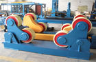 China VFD speed control Welding Rotator for Cylinder / Pipe with Double rotary Drive 80 Ton factory