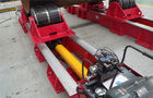 China 30T / 60T Cylinder / Pipe Welding Rotator , Hydraulic adjustment Fit - up Tank Rotators factory