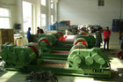 China 100Tons Boiler Pipe Welding Rotator Blue With PU Roller , Steel Roller  Freezing Equipment factory