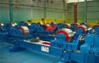 China 60000kg Steel / Rubber Welding Roll Rotator With Lubrication System factory