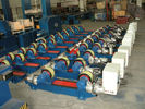 China Adjustable Welding Rotator 100T with VFD Control For Boiler Industries factory