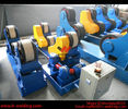 China 80 Ton Full-Automatic VFD Control Pipe Welding Rotators For Cylinder Seam Welding factory