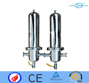 China Ametek Hydraulic Lenticular Stainless Steel Filter Housing Vessels For Gas Element Steam factory