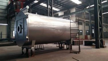 China WNS1.0-1.0-Y(Q) Horizontal Oil(Gas)-Fuel Steam Boiler factory