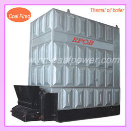 China Horizontal Chain Grate Coal-fired thermal oil boiler with automatical control distributor
