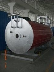 China 350kw gas fired horizontal thermal oil boiler heating system distributor