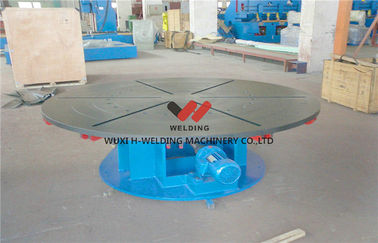 China Welding Turning Table Pipe Welding Positioners For Heavy Duty Loading , Turning / Revolve Table factory