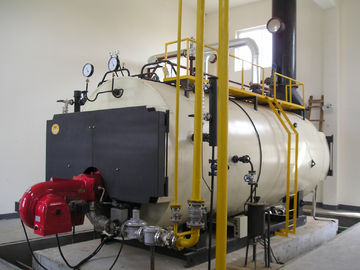 China Automatic 8 Ton Pressure Vessel Gas Fired Steam Boiler factory