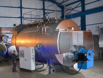 China 10 Ton Wood Gas Fired Steam Boiler / Electric Steam Boiler factory