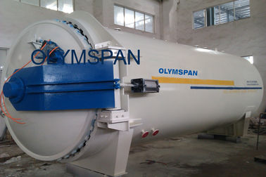 China Chemical Laminated Glass Autoclave Aerated Concrete / Autoclave Machine Φ2m factory