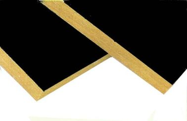 China Soundproofing Rockwool Insulation Board Faced With Black Glass Tissue factory