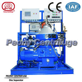 China Automatic Vertical Mineral Fuel Oil Disc Stack Centrifuges Separator 4KW factory