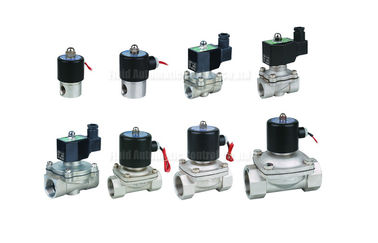 China 3mm~50mm Orifice Stainless Steel Diaphragm 2 Way Solenoid Valve With EPDM Seal factory