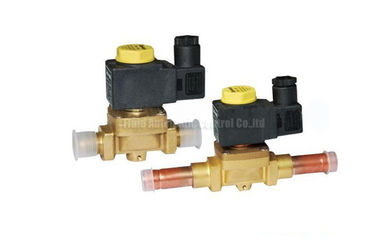 China Brass 2 Way Brass Solenoid valve Castel Equivalent For Refrigeration System factory