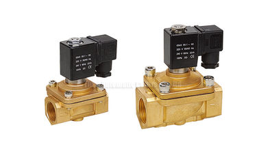 """China Direct Acting PU220 2 Way Pneumatic Solenoid Valve G1/8"""" - G1"""" Port Size factory"""