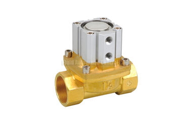 """China Air Operated Brass Air control Valve 16-50mm G1/2""""~G2"""" With PTFE Seal factory"""