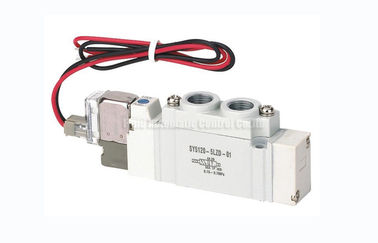 China SY5120 G1/4 Two Position Five Way Solenoid Valve SMC Equivalent factory