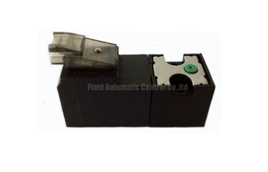 China 10mm 15mm 3/2 Miniature Solenoid Valve 1.3W 24VDC  For Pneumatic Automation Of Textile And Knitting factory