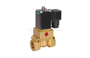 "China Two Position Four Way Pistion Operated Brass Solenoid Valve G1/4""~G1/2"" factory"