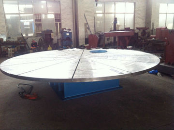 China Custom Auto Pipe Welding Positioner with 5000mm Diameter Table For Electric Power factory