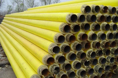 China API 5L / API 5CT Yellow Foamed Insulation Steel Pipe For Oil or Gas Pipeline distributor