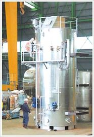 China Vertical  Steam Boiler Fuel Oil fired and Exhaust Gas composite Boiler factory