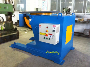 China Welding Turning Table With 5ton Loading Capacity VFD Control By Hand Panel Control factory
